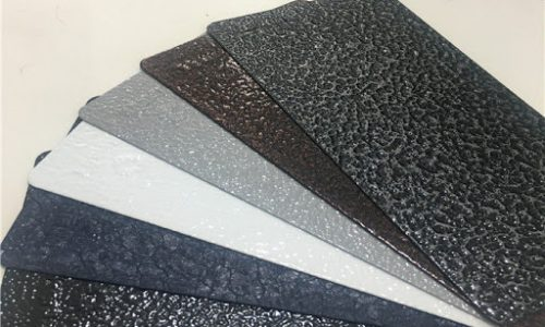 Latest Texture Powder Coatings
